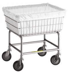 R&B Wire - R&B Wire #142 Antimicrobial Basket Liner for E, D, G Baskets - White