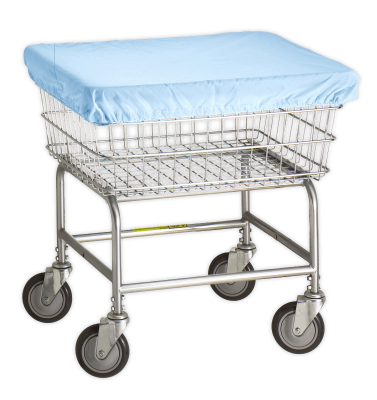 R&B Wire - R&B Wire #132 Antimicrobial Basket Cover Cap for E, D, G Baskets - Blue