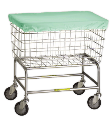 R&B Wire - R&B Wire #232 Antimicrobial Basket Cover for F Basket - Green