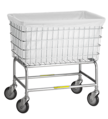 R&B Wire - R&B Wire #242 Antimicrobial Basket Liner for F Basket  - White