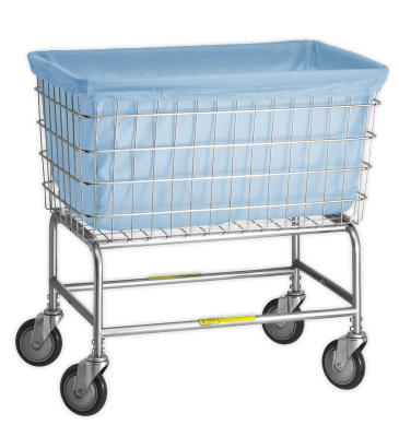 R&B Wire - R&B Wire #242 Antimicrobial Basket Liner for F Basket  - Blue