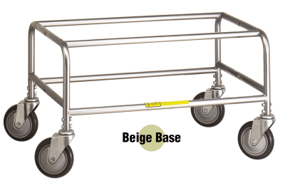 R&B Wire - R&B Wire #200C Large Round Tubular Base (for 200 series carts) - Beige